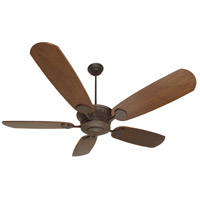 DC Epic 70 inch Aged Bronze Textured Dark Oak Ceiling Fan With Blades Included in Epic Dark Oak, Light Kit Sold Separately