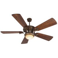 Craftmade Amphora 1 Light Ceiling Fan With Blades Included in Peruvian Bronze K10264