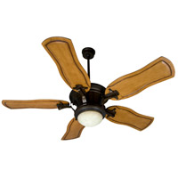 Craftmade Amphora 1 Light Ceiling Fan With Blades Included in Peruvian Bronze K10279