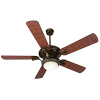 Craftmade Amphora 1 Light Ceiling Fan With Blades Included in Peruvian Bronze K10280