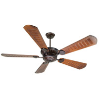 Craftmade K10311 DC Epic 70 inch Oiled Bronze with Scalloped Walnut Blades Ceiling Fan Kit in Light Kit Sold Separately, Custom Carved, Blades Included