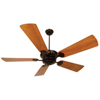 DC Epic 70 inch Oiled Bronze Hand-Scraped Teak Ceiling Fan With Blades Included in Premier, Light Kit Sold Separately