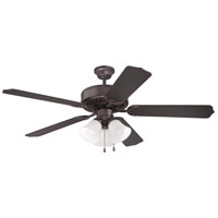 Craftmade K10423 Pro Builder 205 52 inch Oiled Bronze Ceiling Fan Kit in Contractor Oiled Bronze, Blades Included