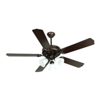 Craftmade K10423 Pro Builder 205 52 inch Oiled Bronze Ceiling Fan Kit in Contractor Standard, Blades Included