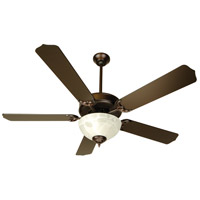 Craftmade K10433 Pro Builder 201 52 inch Oiled Bronze Ceiling Fan Kit in Contractor Oiled Bronze, Blades Included
