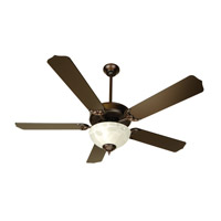 Craftmade K10433 Pro Builder 201 52 inch Oiled Bronze Ceiling Fan Kit in Contractor Standard, Blades Included