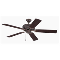 Craftmade K10435 Pro Builder 52 inch Aged Bronze Textured with Aged Bronze Blades Ceiling Fan Kit in Contractor Aged Bronze