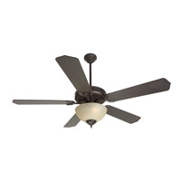 Craftmade K10629 Pro Builder 202 52 inch Oiled Bronze Ceiling Fan Kit in Contractor Standard, Blades Included