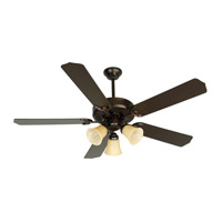 Pro Builder 206 52 inch Oiled Bronze Ceiling Fan With Blades Included in Contractor Standard