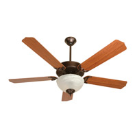 "Craftmade K10645 Pro Builder 207 52 inch Oiled Bronze with Cherry Blades Ceiling Fan Kit in Contractor Standard 52"" Blades Included"