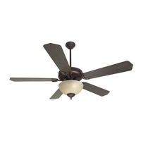 Craftmade K10648 Pro Builder 208 52 inch Oiled Bronze Ceiling Fan Kit in Contractor Standard, Blades Included