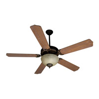 Craftmade K10649 Pro Builder 208 52 inch Oiled Bronze with Washed Walnut Birch Blades Ceiling Fan Kit in Contractor Standard, Blades Included