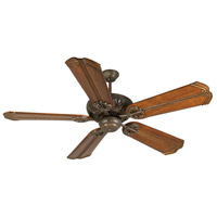 Craftmade K10673 Cordova 56 inch Aged Bronze Textured with Oak with Aged Bronze Accents Blades Ceiling Fan Kit in Light Kit Sold Separately, Custom Carved, Chamberlain Oak with Aged Bronze Accents, Solid Wood Blades, Blades Included