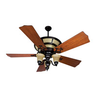 Craftmade Hathaway 3 Light Ceiling Fan With Blades Included in Oiled Bronze K10705