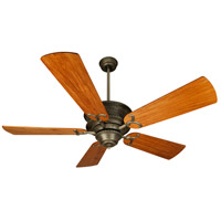 Craftmade K10752 Riata 54 inch Antique Nickel with Hand-Scraped Oak Blades Ceiling Fan Kit in Pewter, Light Kit Sold Separately, Premier Oak, Blades Included