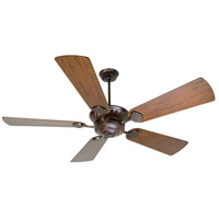 DC Epic 70 inch Oiled Bronze Reversible Hand-Scraped Walnut/Walnut Ceiling Fan With Blades Included in Premier, Light Kit Sold Separately