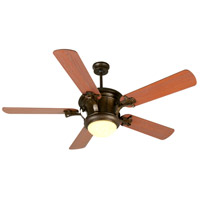 Craftmade Amphora 1 Light Ceiling Fan With Blades Included in Peruvian Bronze K10796