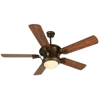Craftmade Amphora 1 Light Ceiling Fan With Blades Included in Peruvian Bronze K10797