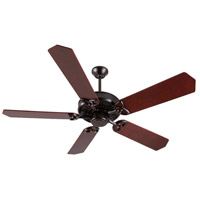 Craftmade Amphora 1 Light Ceiling Fan With Blades Included in Peruvian Bronze K10800