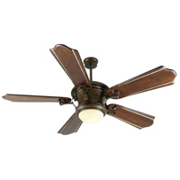 Craftmade Amphora 1 Light Ceiling Fan With Blades Included in Peruvian Bronze K10801