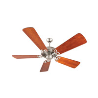 Craftmade American Tradition Ceiling Fan With Blades Included in Brushed Satin Nickel K10828