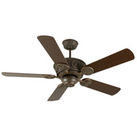 Chaparral 52 inch Aged Bronze Textured with Aged Bronze Blades Ceiling Fan Kit in MDF Blades, Contractor Plus, Light Kit Sold Separately, Blades Included