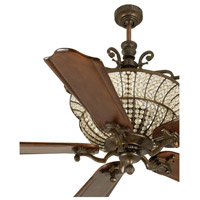 Craftmade Cortana 3 Light Ceiling Fan Motor Only in Peruvian Bronze CR52PR
