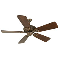 Craftmade K10904 Cordova 54 inch Aged Bronze Textured with Distressed Walnut Blades Ceiling Fan Kit in Light Kit Sold Separately, Premier, Solid Wood Blades, Blades Included