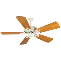 Craftmade K10909 Cordova 54 inch Antique White with Hand-Scraped Oak Blades Ceiling Fan Kit in Premier Oak, Blades Included