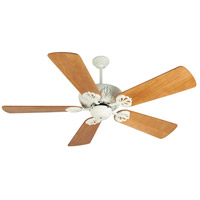 Craftmade K10910 Cordova 54 inch Antique White with Distressed Oak Blades Ceiling Fan Kit in Premier Distressed Oak, Blades Included