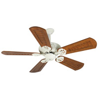 Craftmade K10912 Cordova 56 inch Antique White with Scalloped Walnut Blades Ceiling Fan Kit in Custom Carved Scalloped Walnut