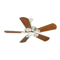 Craftmade K10912 Cordova 56 inch Antique White with Scalloped Walnut Blades Ceiling Fan Kit in Custom Carved Scalloped Walnut, Blades Included