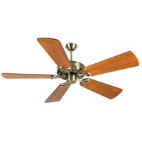 Craftmade CXL Ceiling Fan With Blades Included in Antique Brass K10927