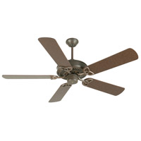 Craftmade K10930 CXL 52 inch Aged Bronze Textured with Aged Bronze Blades Ceiling Fan Kit in MDF Blades, Contractor Plus, 0, Light Kit Sold Separately, Blades Included