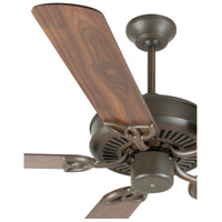 Craftmade K10932 Cxl 52 inch Aged Bronze Textured with Walnut Blades Ceiling Fan Kit in Light Kit Sold Separately, Plus Walnut, Blades Included alternative photo thumbnail