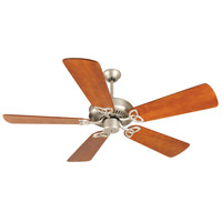 Craftmade CXL Ceiling Fan With Blades Included in Brushed Satin Nickel K10944