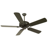 Craftmade K10956 Cxl 52 inch Flat Black Ceiling Fan Kit in Light Kit Sold Separately, Plus Flat Black, Blades Included