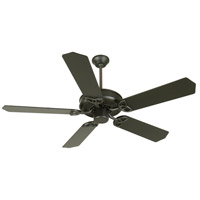 Craftmade K10958 CXL 52 inch Flat Black Ceiling Fan Kit in MDF Blades, Standard, 0, Light Kit Sold Separately, Blades Included