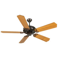 Craftmade CXL Ceiling Fan With Blades Included in Oiled Bronze K10965