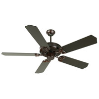 Craftmade K10966 Cxl 52 inch Oiled Bronze Ceiling Fan Kit in Light Kit Sold Separately, Standard Oiled Bronze, Blades Included