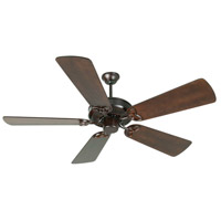 Craftmade K10969 Cxl 54 inch Oiled Bronze with Distressed Walnut Blades Ceiling Fan Kit in Light Kit Sold Separately, Premier Distressed Walnut