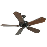 Craftmade K10971 Cxl 56 inch Oiled Bronze with Classic Ebony Blades Ceiling Fan Kit in Light Kit Sold Separately, Custom Carved Classic Ebony