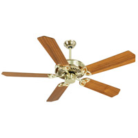 Craftmade CXL Ceiling Fan With Blades Included in Polished Brass K10974