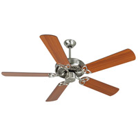 Craftmade K10984 Cxl 52 inch Brushed Polished Nickel with Reversible Cherry and Rosewood Blades Ceiling Fan Kit in Reversible Cherry/Rosewood MDF