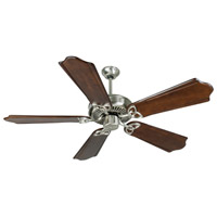 Craftmade CXL Ceiling Fan With Blades Included in Stainless Steel K10987