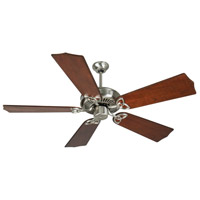Craftmade CXL Ceiling Fan With Blades Included in Stainless Steel K10988
