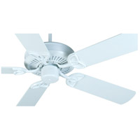 Craftmade K10989 CXL 52 inch White Ceiling Fan Kit in MDF Blades, Contractor Plus, 0, Light Kit Sold Separately, Blades Included alternative photo thumbnail