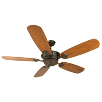 DC Epic 70 inch Aged Bronze Textured Walnut Ceiling Fan With Blades Included in Epic Walnut, Light Kit Sold Separately