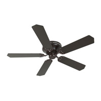 Craftmade K11004 Pro Contemporary 52 inch Oiled Bronze Flushmount Ceiling Fan Kit in Contractor Standard Light Kit Sold Separately Blades Included