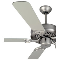 Craftmade K11007 Cxl 52 inch Brushed Satin Nickel with Brushed Nickel Blades Ceiling Fan Kit in Light Kit Sold Separately, Plus Brushed Nickel, Blades Included alternative photo thumbnail